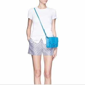 Opening Ceremony White Posey Shirt Tail Top in S